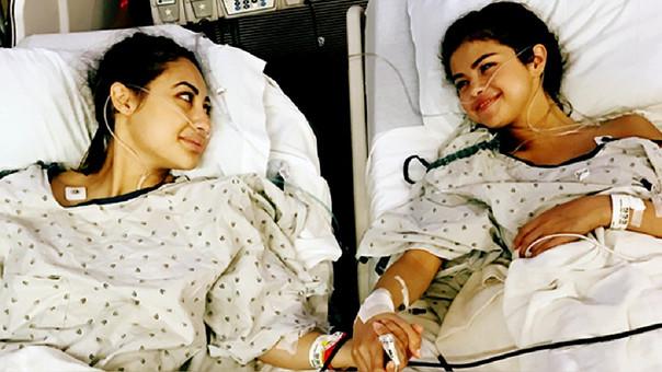 Selena Gómez recibió un transplante de riñón gracias a su amiga Francia Raisa. (Foto Prensa Libre:Instagram)