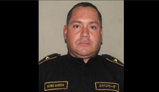 Franklin Barrera Recinos, oficial tercero de la PNC fallecido. Foto Prensa Libre: PNC