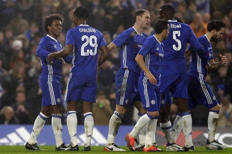 El Chelsea dio un paso más hacia el título de la FA Cup. (Foto Prensa Libre: AP)