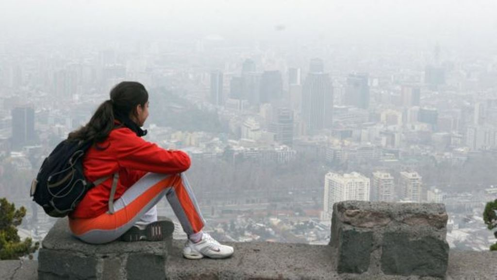Santiago es una de las ciudades con más problemas de contaminación en América Latina. (GETTY IMAGES)