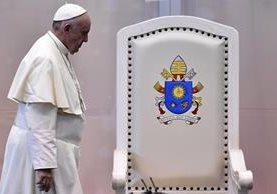 El papa Francisco culmina el miércoles su gira en México. (Foto Prensa Libre: AFP).