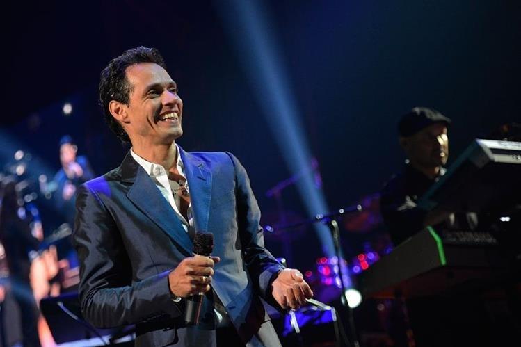 Marc Anthony suspende show en Panmá.(Foto Prensa Libre: AFP)
