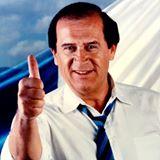 Típica imagen de campaña de Jorge Carpio Nicolle, en 1990. (Foto: Hemeroteca PL)