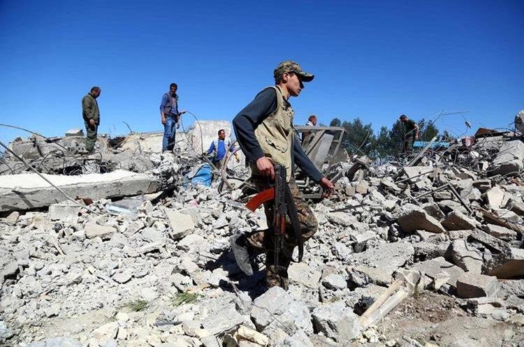 Siria vive una guerra desde hace más de seis años. (AFP)