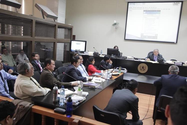La defensa de los implicados en La Línea cuestiona lo declarado por Salvador González, alias Eco. (Foto Prensa Libre: Hemeroteca PL)