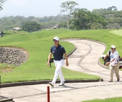 Pablo Acuña no logró pasar el corte en el Stella Artois de golf. (Foto Prensa Libre: Carlos Vicente)
