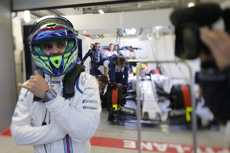 Felipe Massa, de Williams, durante la segunda sesión de entrenamientos libres en el circuito de Sochi. (Foto Prensa Libre: EFE)