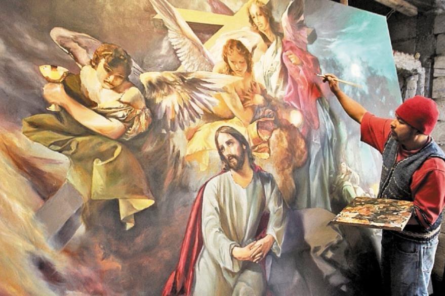 Ixcamey recreó una de las obras de Tomás de Merlo.