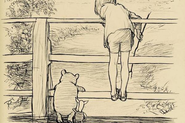 <p>El dibujo de Winnie the pooh fue subastado por casi medio millón de dólares. (Foto Prensa Libre: Sothebys)</p>