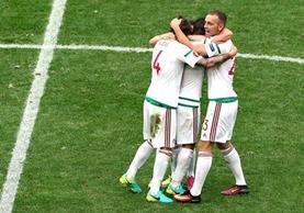 Hungría está a un paso de clasificarse a los octavos de final de la Eurocopa 2016. (Foto Prensa Libre: AP)