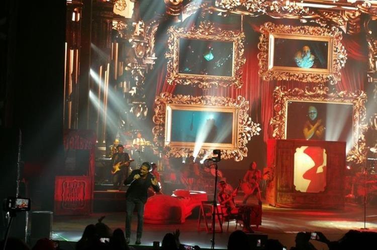 Así lució el escenario.Foto Prensa Libre: Keneth Cruz.