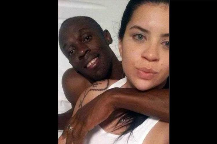 Jady Duarte junto al jamaiquino Usain Bolt compartió sus fotos en las redes sociales. (Foto Prensa Libre: tomada de internet)