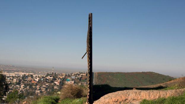 La frontera sigue siendo escenario de grandes desigualdades. AFP