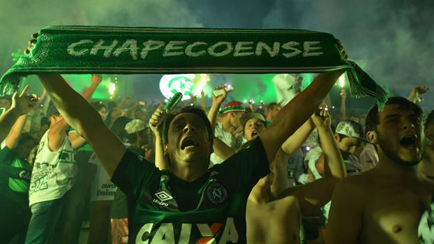 El sábado el estadio Arena Condá volverá a ver a su equipo, el Chapecoense después de la tragedia. (Foto Prensa Libre: Hemeroteca)