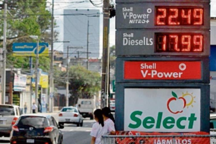 los carburantes subieron de precio.