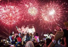 En varias ciudades del mundo ya iniciaron con los festejos para recibir el 2018
