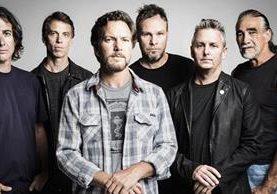 El grupo Pearl Jam fue postulado por primera vez este año y logró ser seleccionado para ingresar al salón. (Foto Prensa Libre: jambase.com)