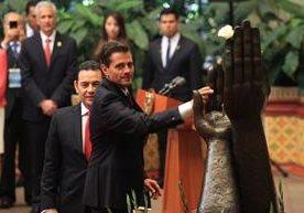 Enrique Peña Nieto arribó al país ayer y hoy tendrá varias actividades