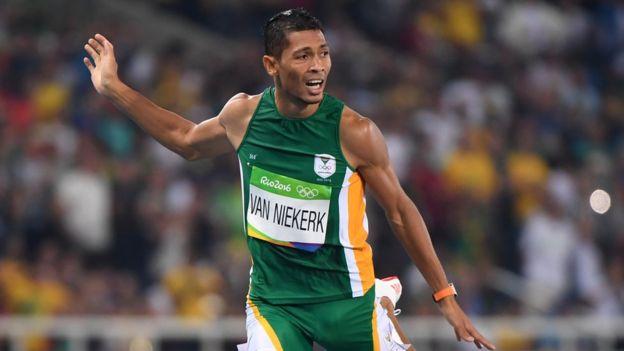 Van Niekerk puede convertirse en la próxima estrella del atletismo. (Getty Images)