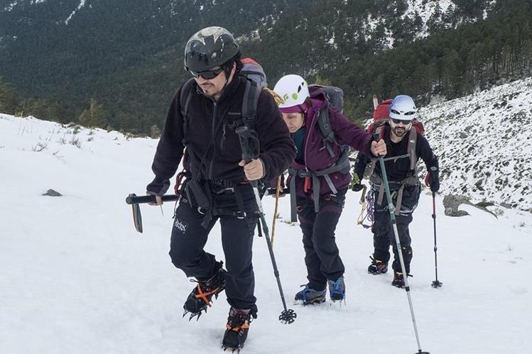 El curso de guiado de montañismo para personas no videntes se efectuará en Noruega del 1 al 5 de junio. (Foto Prensa Libre: Cortesía)