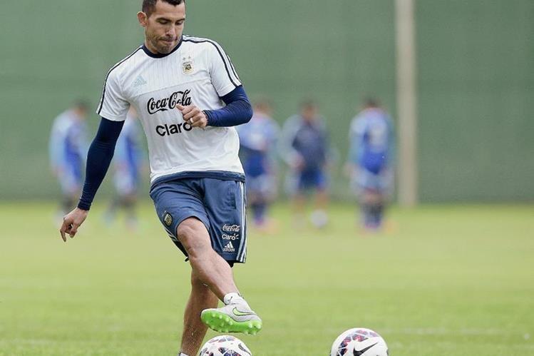 La presentación de Carlos Tévez con Boca Juniors será el próximo 7 de julio. (Foto Prensa Libre: AFP)