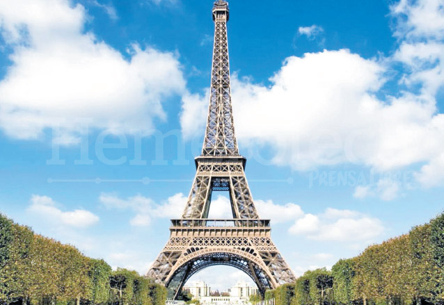 Torre Eiffel, emblema de París. (Foto: Hemeroteca PL)