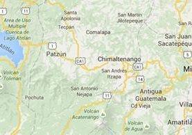 Mapa de Chimaltenango, donde se dictaron ambas condenas. (Foto Prensa Libre: Google Maps).