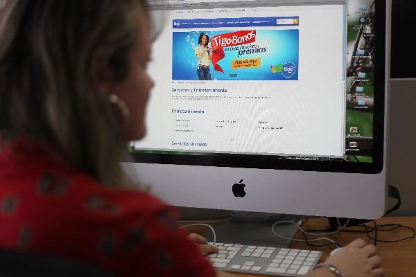 El acceso a internet es bajo en países como Guatemala.