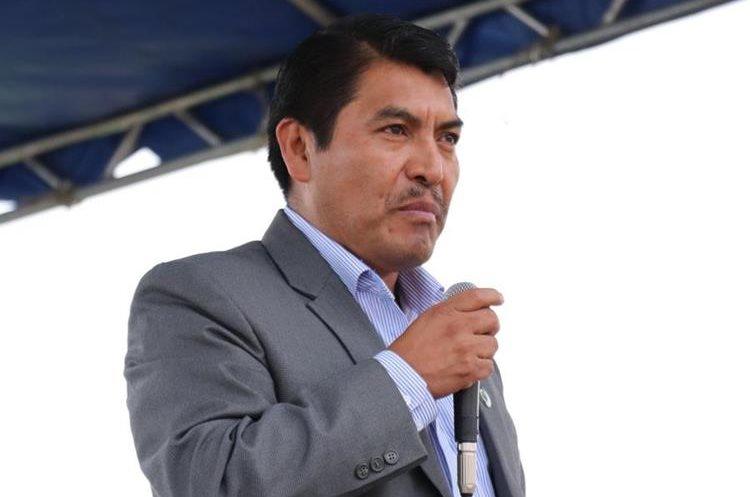Juan José Cua, jefe edil de El Tejar, Chimaltenango, es señalado de haber extorsionado a extrabajadores municipales. (Foto Prensa Libre: Víctor Chamalé)