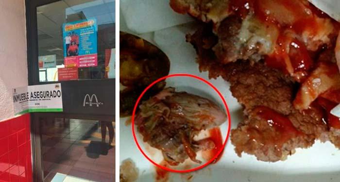 La supuesta denuncia de una rata en una hamburguesa ameritó el cierre de un restaurante.