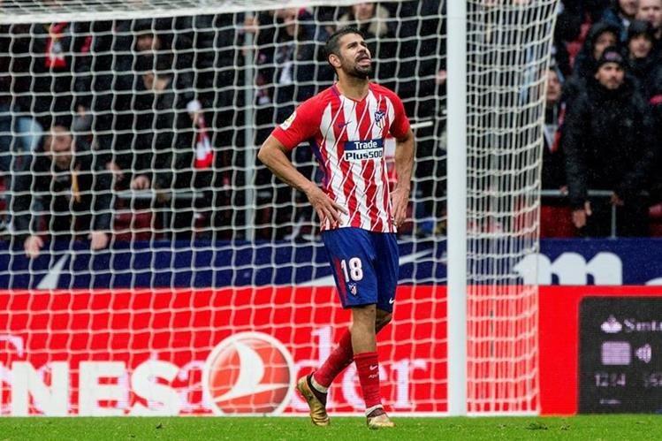 Diego Costa luz y sombra en triunfo del Atlético de Madrid
