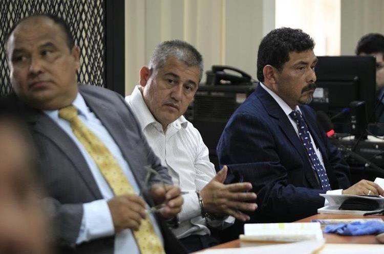 Carlos Rodas ex secretario de Bienestar Social durante la audiencia de hoy. (Foto Prensa Libre: Carlos Hernández Ovalle)