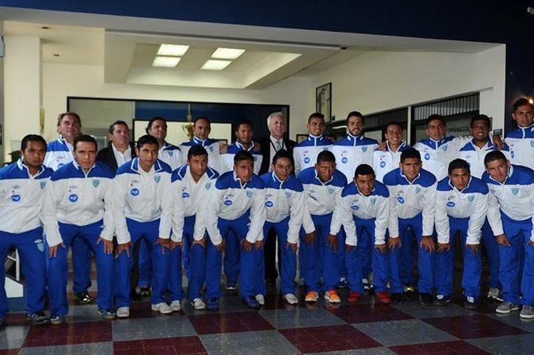 Los juveniles están listos para el debut en el Estadio del Trébol. (Foto Prensa Libre: Óscar Felipe)