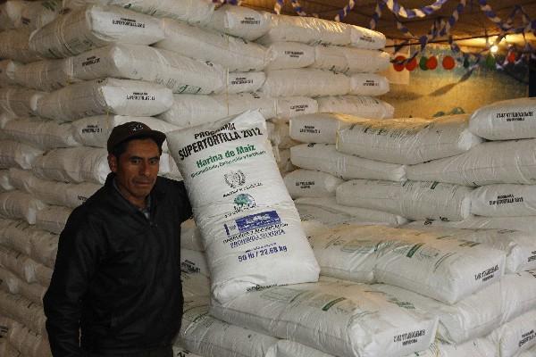 El programa   Supertortilla, a cargo del Maga,  promueve el uso de harina fortificada.
