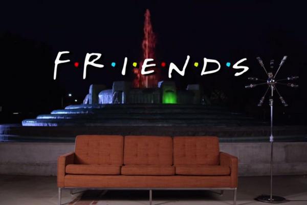Usuarios de YouTube recrean la serie Friends. (Foto Prensa Libre: YouTube)