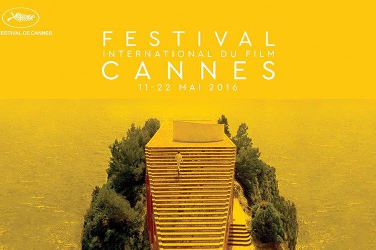 Cartel oficial de la 69 edición del Festival de Cannes. (Foto Prensa Libre: Tomada de festival-cannes.com)