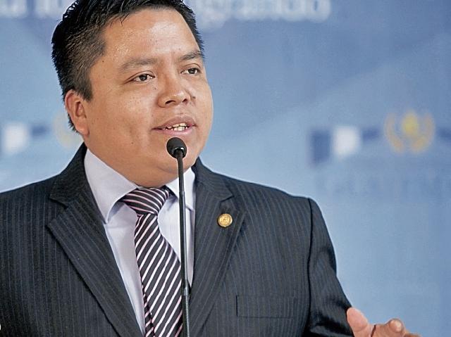 Héctor Canto, viceministro técnico de Educación. (Foto Prensa Libre: Óscar Rivas)