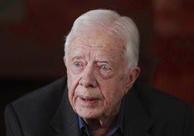 <em>Jimmy Carter ocupó la Casa Blanca entre 1977 y 1981. (Foto Prensa LIbre:AP)</em>