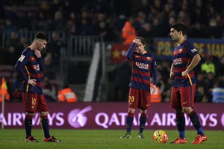 El Barcelona volvió a perder puntos importantes en La Liga española. (Foto Prensa Libre: AFP)