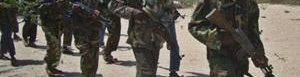 Miembros de las milicias islamistas.