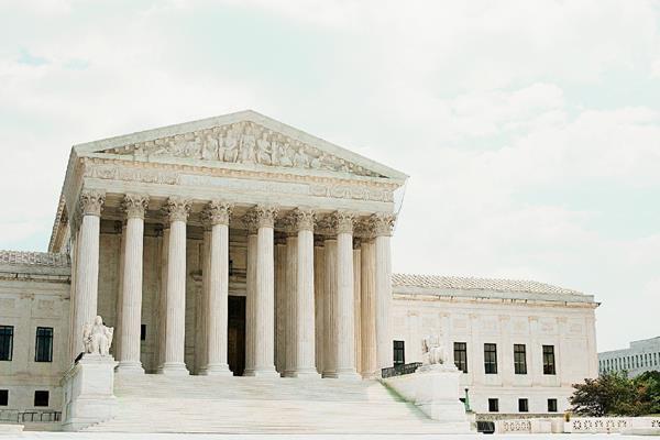 La sede del Tribunal Supremo de EE.UU. en Washington DC.
