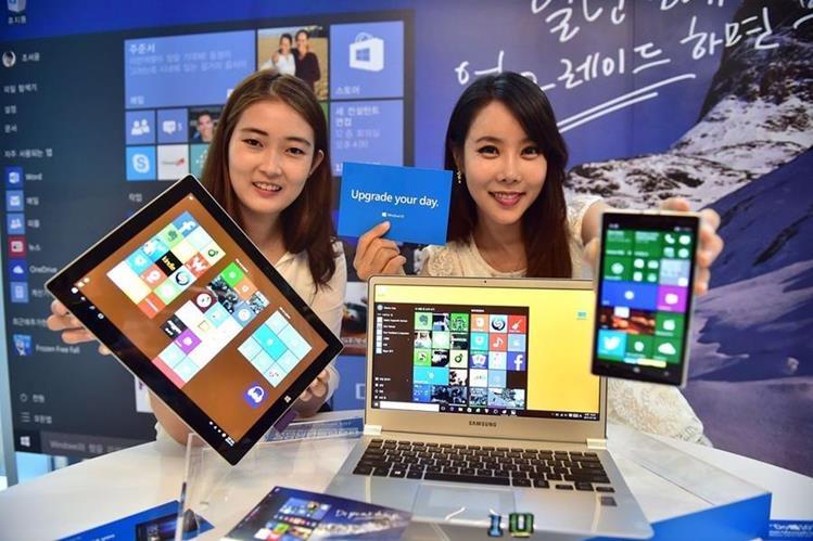 Microsoft ofrece Windows 10 en siete versiones. (Foto Prensa Libre: AFP)