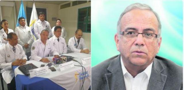 Médicos del Hospital Roosevelt dan conferencia sobre la muerte de Mejía. (Foto Prensa Libre: Andrea Orozco/Hemeroteca PL)