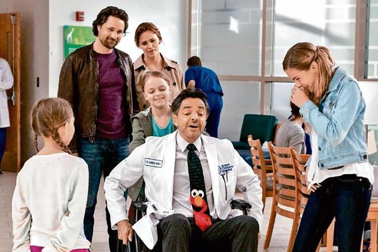 El actor Eugenio Derbez se abre camino en Hollywood con su tercera cinta en inglés. Él interpreta la pediatra Samuel Nurko. (Foto Prensa Libre: Hemeroteca PL)