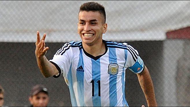 Ángel Correa, quien juega para el Atlético de Madrid, jugará en lugar de Lionel Messi con Argentina. (Foto Prensa Libre: internet)