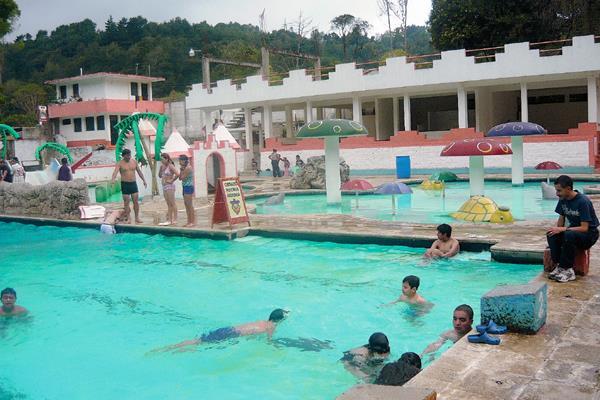 Balneario donde murió ahogado Emanuel Carreto en balneario de San Pedro Sacatepéquez, San Marcos. (Foto Prensa Libre: foto de archivo)