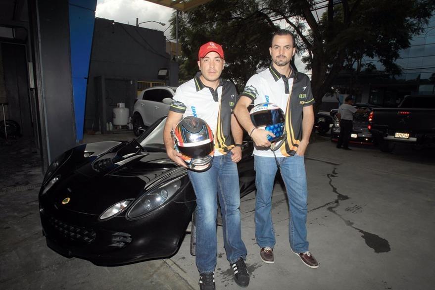 Rodas y Bressani trabajan juntos desde hace cuatro años. (Foto Prensa Libre: Carlos Vicente)
