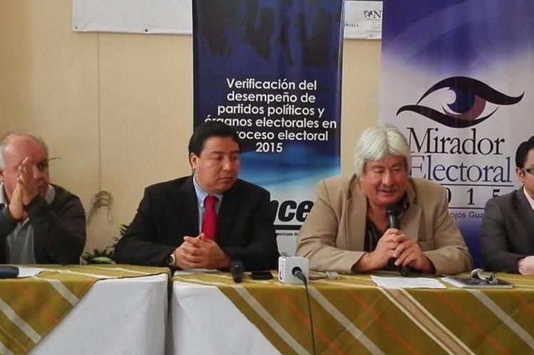 Mirador Electoral considera que la coyuntura podría genera abstencionismo en las elecciones del 6 de septiembre. (Foto Prensa Libre: Edwin Pitán)
