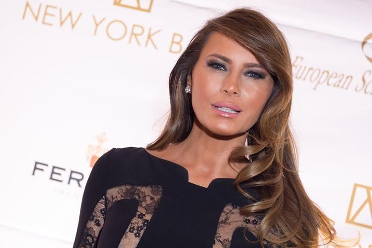 Melania Trump, esposa del candidado republicano a la presidencia de EE. UU., Donald Trump. (Foto Prensa Libre: AP).
