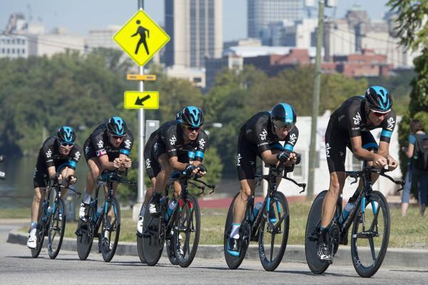 Con los nuevos refuerzos Sky espera conquistar todas las pruebas imporantes del ciclismo mundial. (Foto Prensa Libre: Agencias)